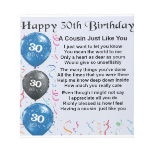 Cousin 30th Birthday Gifts Gift Ideas Zazzle Uk