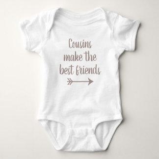 Cousins Make the Best Friends Baby Bodysuit