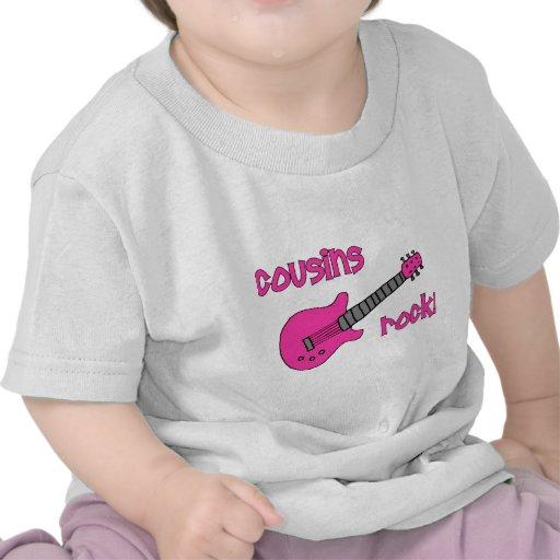Cousins Rock! with Pink Guitar Tee Shirt