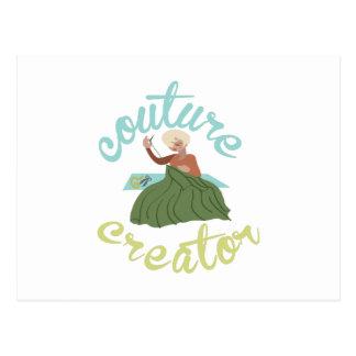 Couture Creator Postcard