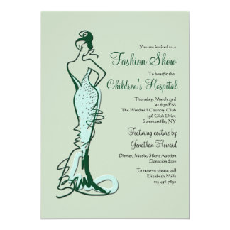 Couture Fashion Show Invitation