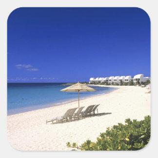 Cove Castles Villas, Shoal Bay West, Anguilla Square Sticker