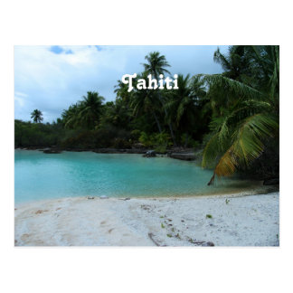 Cove in Tahiti Postcard