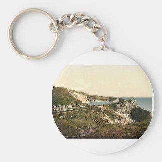 Cove Lulworth England classic Photochrom Key Chain