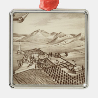 Cove Ranch, Tulare Co, Cal Christmas Ornament