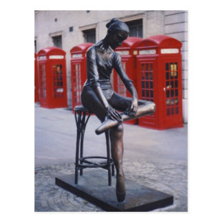 Covent Garden Dancer Postcard