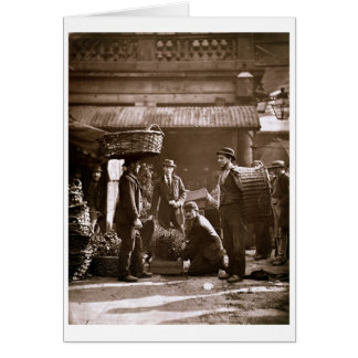 Covent Garden Labourers (woodburytype) Card