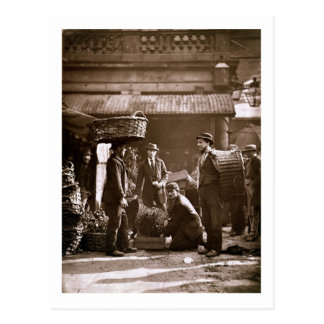 Covent Garden Labourers (woodburytype) Postcard