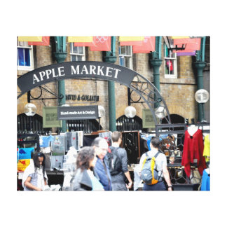 Covent garden London Apple market Stretched Canvas Prints