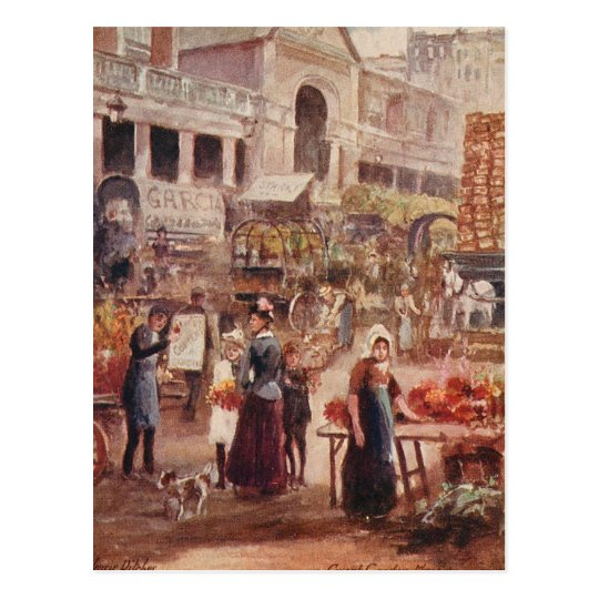 Covent Garden London Postcard