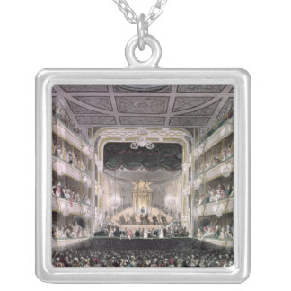 Covent Garden Theatre Silver Plated Necklace