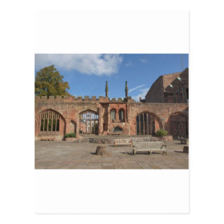 Coventry Cathedral Postcard