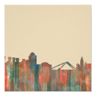 Coventry England Skyline-Navaho 13 Cm X 13 Cm Square Invitation Card