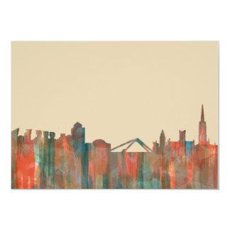 Coventry England Skyline-Navaho 13 Cm X 18 Cm Invitation Card