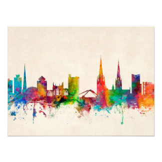 Coventry England Skyline Photo Print
