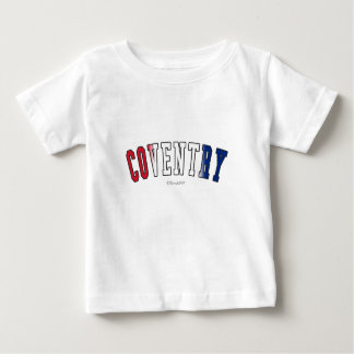 Coventry in United Kingdom national flag colors Tees