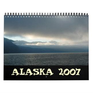 Cover, ALASKA 2007 Calendars