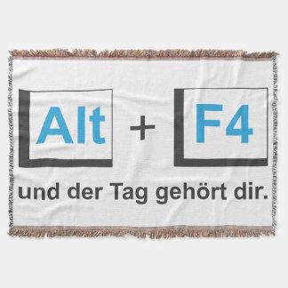 Cover alto+F4 Throw Blanket