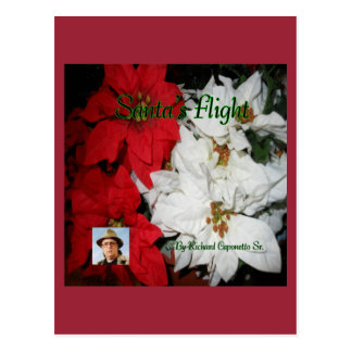 Cover art for Santa's Flight Postcard