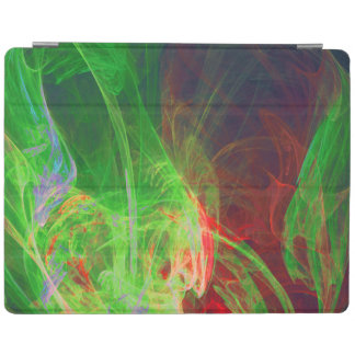 cover design pop color red green iPad cover