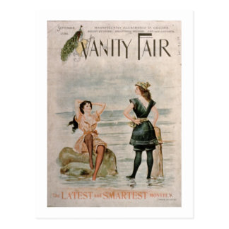 Cover for 'Vanity Fair', September 1896 (colour li Postcard