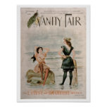 Cover for 'Vanity Fair', September 1896 (colour li Poster
