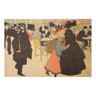 Cover illustration for 'La Vie en Rose', 1903 (col Wood Wall Art