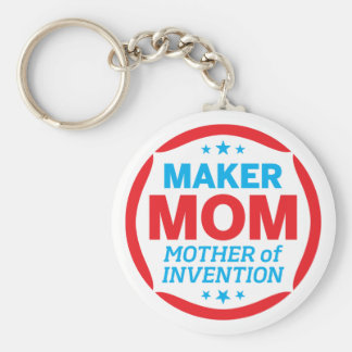 cover image basic round button key ring