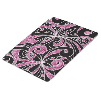 Cover iPad 2/3/4 Drawing Floral iPad Cover