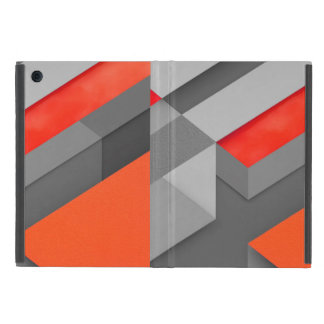cover ipad mini Marshmallow Orange Triangle Patter