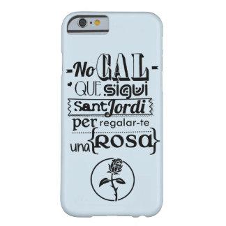 Cover iphone 6/6s Rosa Sant Jordi