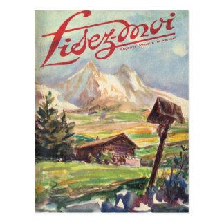 Cover, Lisez-Moi, Alpine journey Postcard