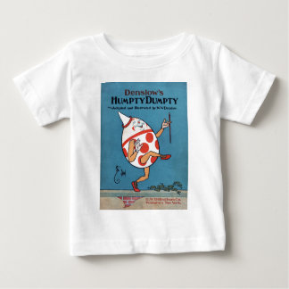 Cover of a 1904 Adaptation of Humpty Dumpty Baby T-Shirt