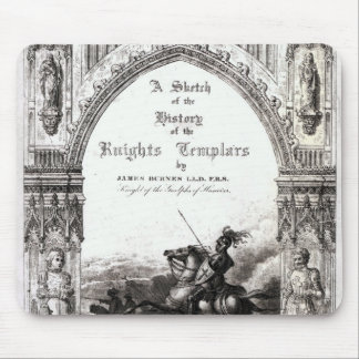 Cover of 'A Sketch of History the Knights Mouse Mat