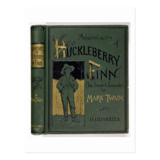 Cover of 'Adventures of Huckleberry Finn' by Mark Postcard
