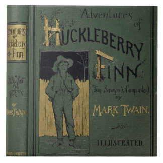 Cover of 'Adventures of Huckleberry Finn' by Mark Tile