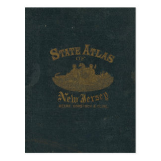 Cover of Atlas New Jersey Postcard