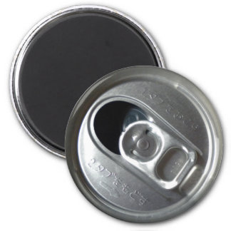 Cover of can drink in Japan open 6 Cm Round Magnet