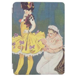 Cover of 'Paris-Vivant' Magazine, 1901 (colour lit iPad Air Cover