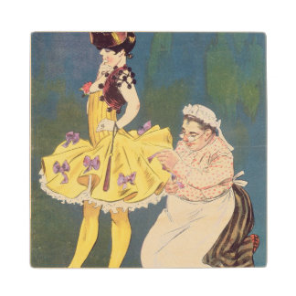 Cover of 'Paris-Vivant' Magazine, 1901 (colour lit Wood Coaster