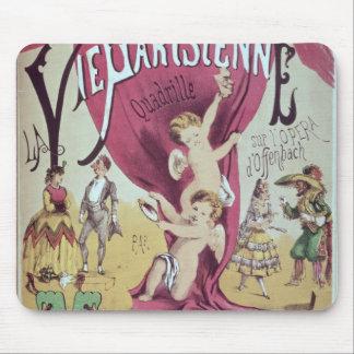 Cover of score sheet La Vie Parisienne Mousepad