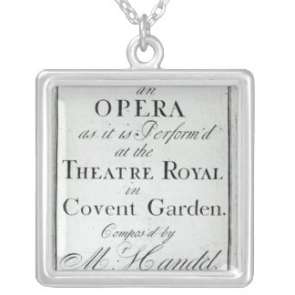 Cover of Sheet Music for Alcina Silver Plated Necklace