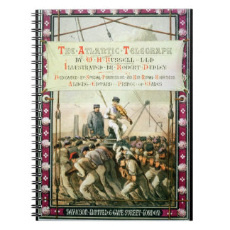 Cover of 'The Atlantic Telegraph' by William Howar Notebooks