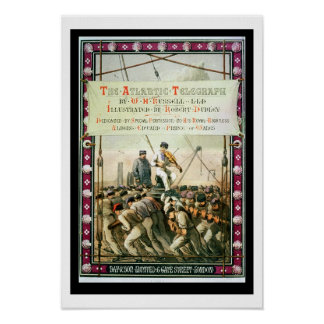 Cover of 'The Atlantic Telegraph' by William Howar Poster