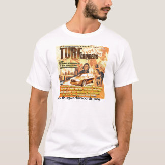 cover turf grinders jill jonez T-Shirt