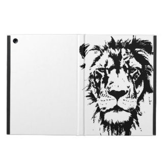 Cover with black and white print Leo