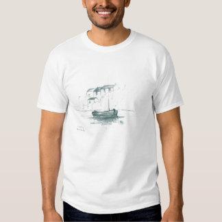 Coverack, Cornwall - Front Logo Tshirts