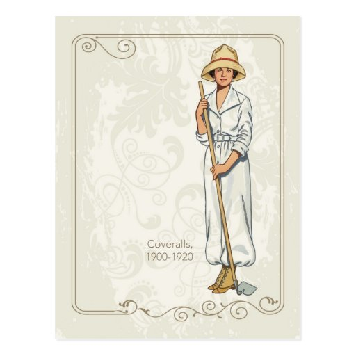 Coveralls Post Cards