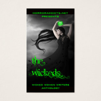 covercard4, horroraddicts.netpresents, wicked w... business card