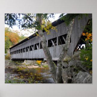 Covered Bridge 7692 Poster
